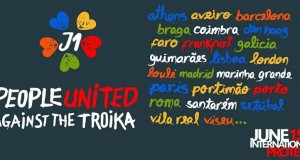 People United against the Troika: International Protest 1st June