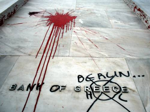 El rescate financiero de Grecia: 77% fue al Sector Financiero