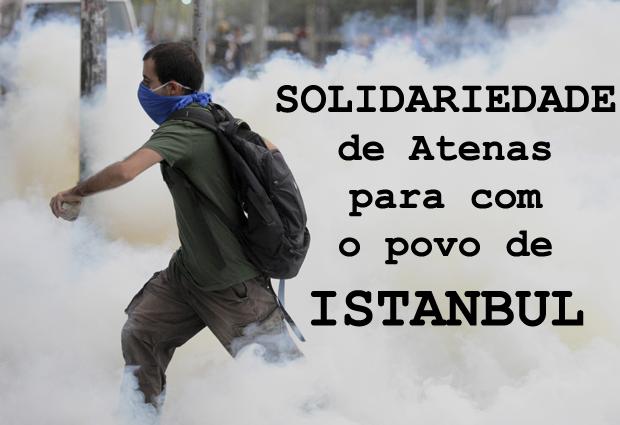 A democracia na Turquia espera pela sua ajuda!