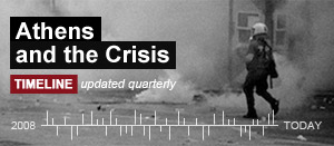 Athens And The Crisis Timeline banner