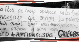 Solidarity message from Barcelona's antifascists