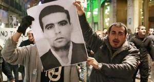 Barcelona: Manifestación contra los CIEs, 9 de diciembre 2013