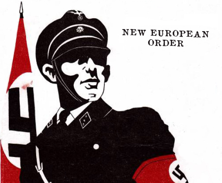 """When Golden Dawn joined the international neo-Nazi New European Order and the """"Barcelona Declaration"""",1981"""