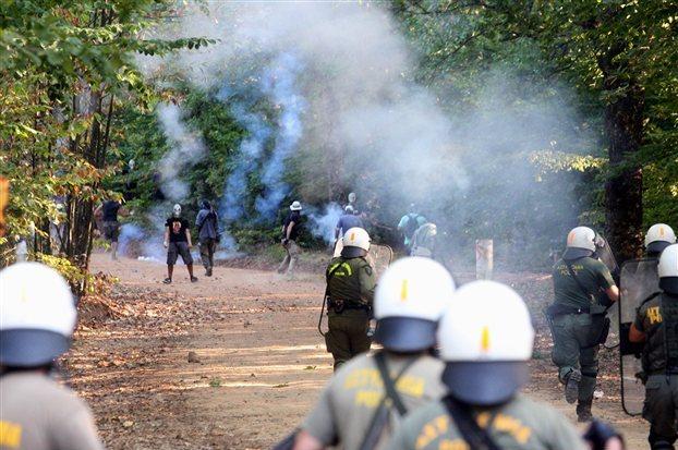 Grecia, Skouries: Una historia de emancipación política