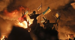Φωτογραφίες από το Κίεβο: Νεκροί κατά τη διάρκεια των πρόσφατων ταραχών (ΦΩΤΟ)