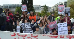 Atenas: 29/11/2014 – alumnos visitan a los refugiados sirios (PHOTOS)