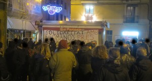 Barcelona: Solidarity with Nikos Romanos 05/12 (PHOTOS)