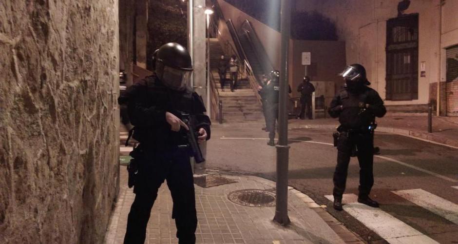Espanya: Les detingudes en l'Operació Pandora passen la nit als calabossos